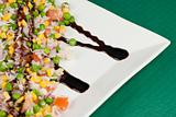 Vegetarian rice dish