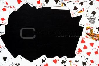 card game frame