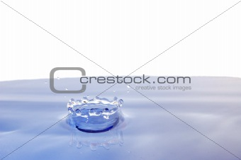 wellness concept with water drop