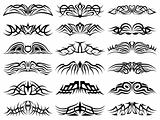 Tribal Tattoo Pack Vector