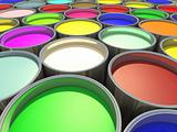 Color paint Tank, Abstract Background