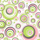 Circles seamless pattern.