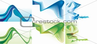 Abstract Backgrounds.  Vector EPS10 Illustration