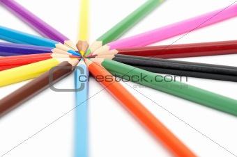 14 color pencils