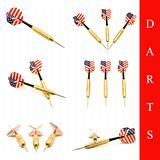darts arrow set