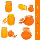 set of jars