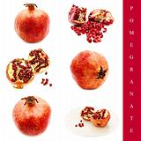 pomegranate set