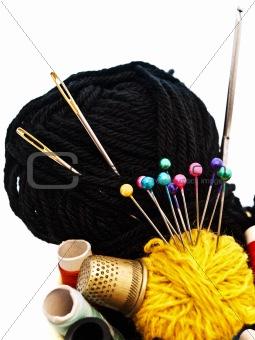 knitting items