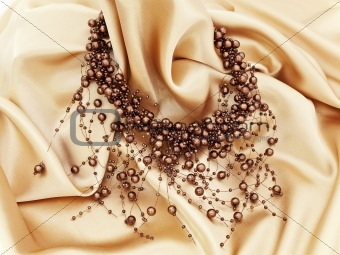 fashion brown necklace