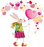 Hare on Valentine's Day