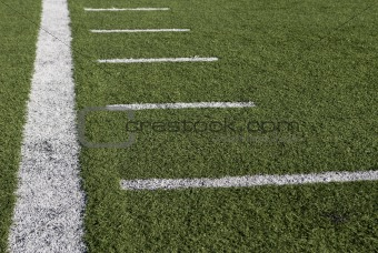 Football at the stadium