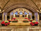 Altar of Crypt church at Basilica in Washington