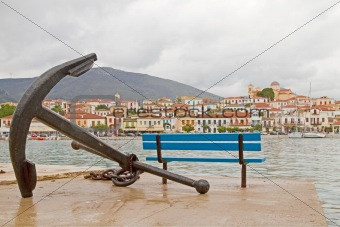 Anchor and Galaxidi Town