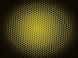 Honeycomb Background Yellow
