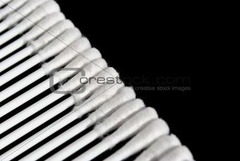 Cotton buds, diagonal