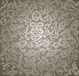 Seamless From grey ornament. Vector