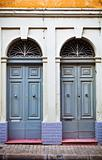 Beautiful town house doorways in Malta