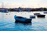 Sunset in Sliema, Malta
