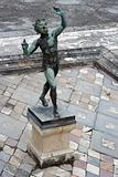 Dancing faun in Pompeii (Italy)