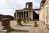 Ruins of the basilica, Pompeii.