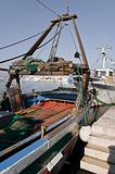 Fishing trawler.
