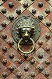Saint Vitus Cathedral  Prague, Prague castle, Czech Republic, interior - Wenceslas´s Chapel - detail of door