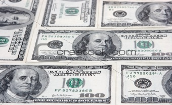 American money is a background