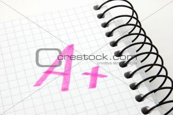 positive successful mark a