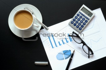 coffee and financial data