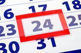 24 calendar day