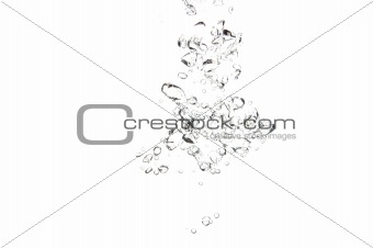 active water background