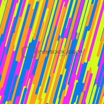 Abstract background with multicolor lines