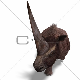 Dinosaur Elasmotherium