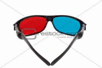 3d glasses inside