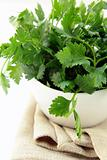 green, organic parsley