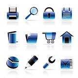 website, internet and computer icons