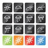 Weather and nature icons