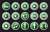 Music and sounds icons