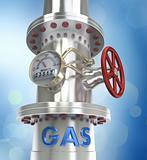 Gas pipeline.