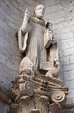 St. Benedetto Statue. Conversano. Apulia.