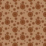 Seamless pattern with circle