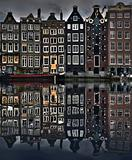 Typical houses in Amsterdam