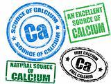 Calcium stamps
