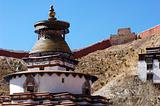 Ancient lamasery in Tibet