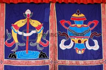 Tibetan curtain