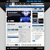 Web Design Elements Template