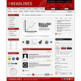Web Website Design Element Template