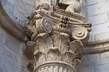 Corinthian column.
