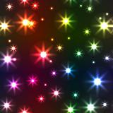 Abstract background with motley stars