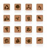 Wooden Ecology icons